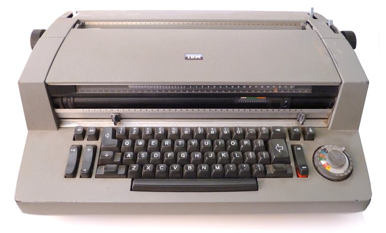 IBM Selectric Composer Serial No. 580097651